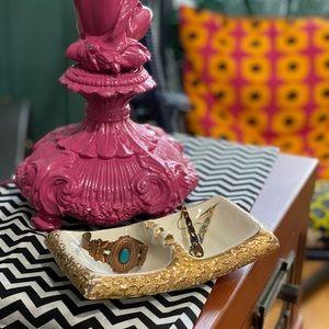 Vintage 24KT Gold ashtray